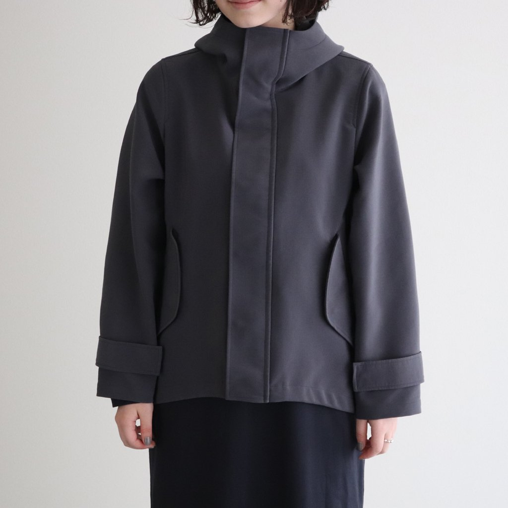 <img class='new_mark_img1' src='https://img.shop-pro.jp/img/new/icons1.gif' style='border:none;display:inline;margin:0px;padding:0px;width:auto;' />TRIPLE CLOTH HOODED BLOUSON #C.GRAY [GL203-30121]