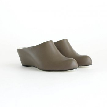 MULE #KHAKI BROWN [BSS2034004] _ BEAUTIFUL SHOES | ビューティフルシューズ
