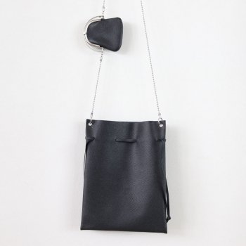 ODD FRAME PURSE WITH POUCH #BLACK [B01YBG-115] _ ED ROBERT JUDSON | エド ロバート ジャドソン