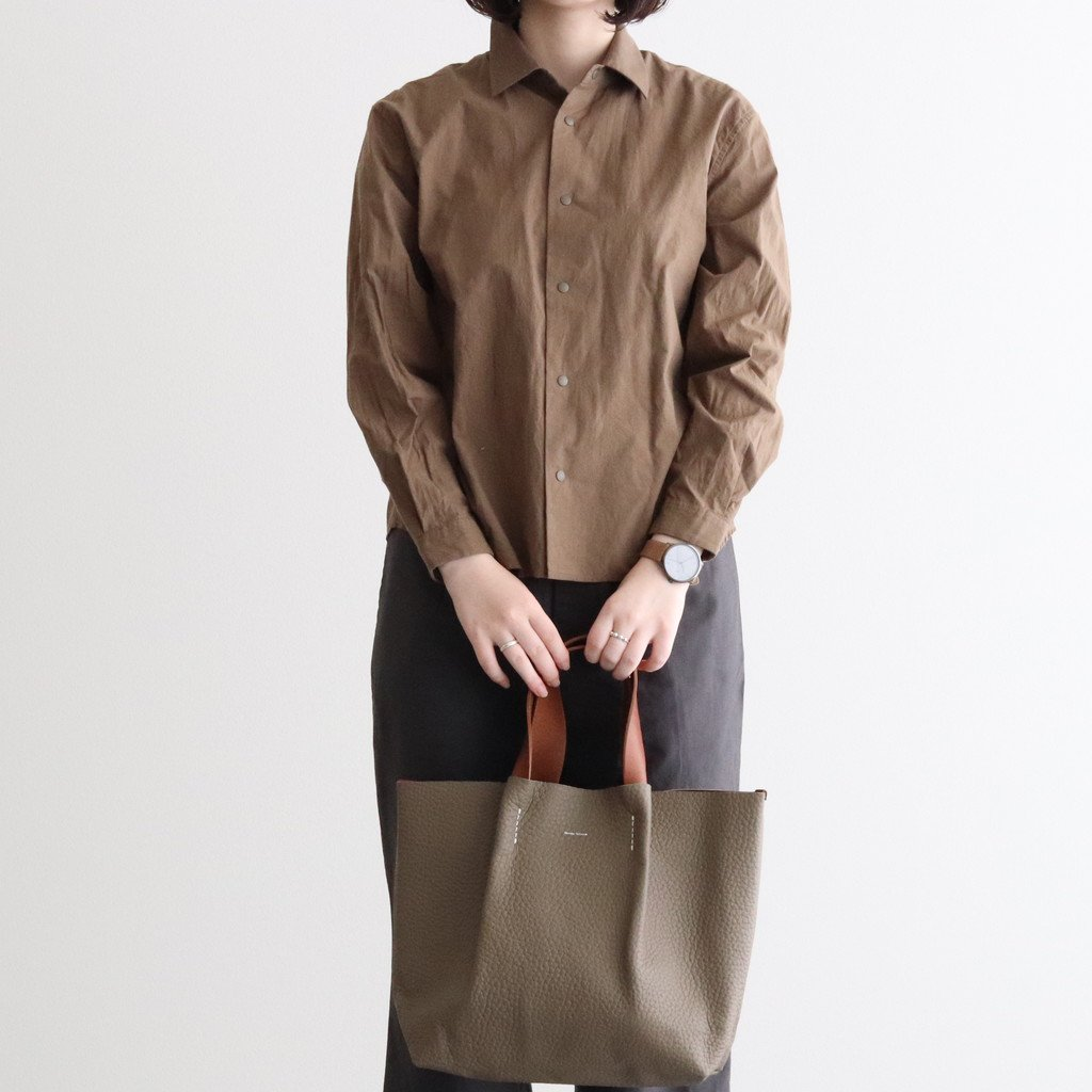 <img class='new_mark_img1' src='https://img.shop-pro.jp/img/new/icons1.gif' style='border:none;display:inline;margin:0px;padding:0px;width:auto;' />COMFORT SHIRT RELAX SHORT #CHESTNUT [60142]