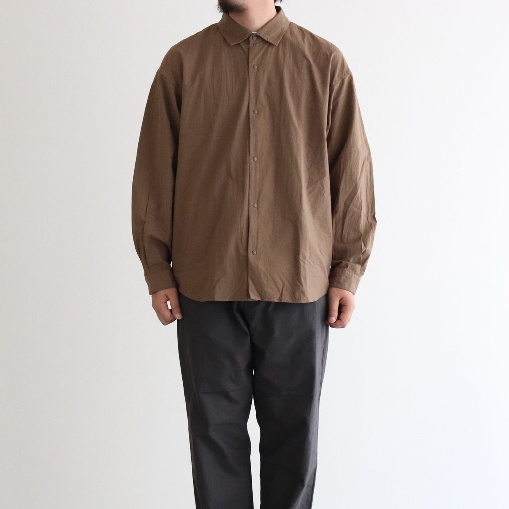 <img class='new_mark_img1' src='https://img.shop-pro.jp/img/new/icons1.gif' style='border:none;display:inline;margin:0px;padding:0px;width:auto;' />COMFORT SHIRT EXTRA WIDE #CHESTNUT [10143]