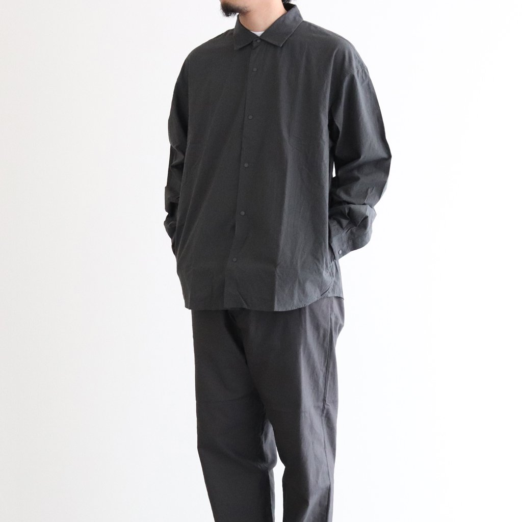 <img class='new_mark_img1' src='https://img.shop-pro.jp/img/new/icons1.gif' style='border:none;display:inline;margin:0px;padding:0px;width:auto;' />COMFORT SHIRT EXTRA WIDE #LOGWOOD [10143]