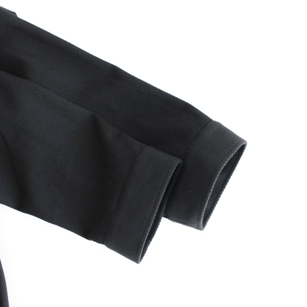 <img class='new_mark_img1' src='https://img.shop-pro.jp/img/new/icons1.gif' style='border:none;display:inline;margin:0px;padding:0px;width:auto;' />WOOL KERSEY FATIGUE SHIRT #BLACK [GM203-50051]