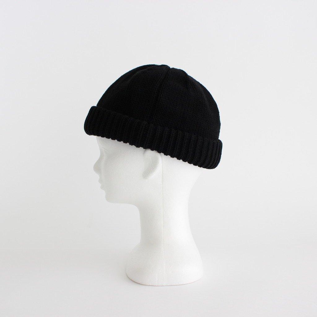 KNIT CAP #BLACK [2003-017]