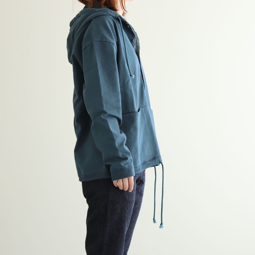 <img class='new_mark_img1' src='https://img.shop-pro.jp/img/new/icons1.gif' style='border:none;display:inline;margin:0px;padding:0px;width:auto;' />BUTTON P/O HOODIE #GREEN [2003-012W]