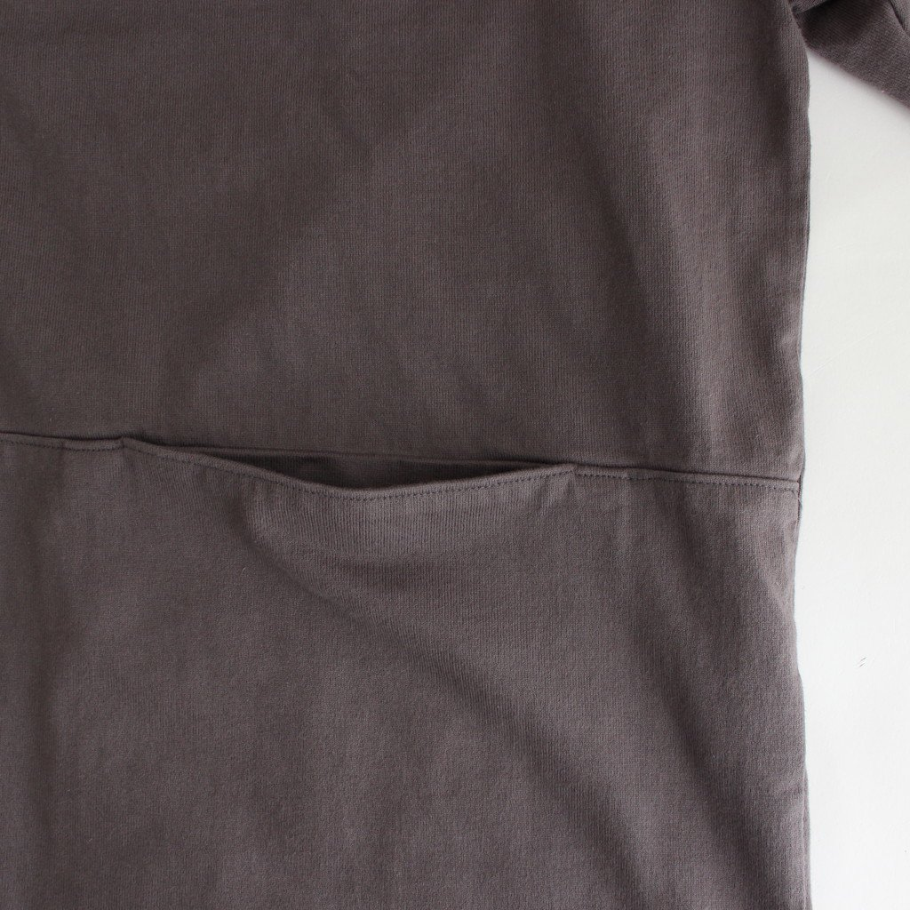 BUTTON P/O HOODIE #D.GRAY [2003-012]