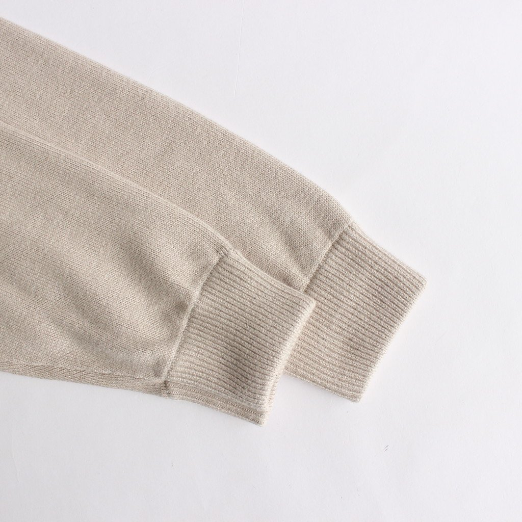 COTTON CASHMERE TURTLE # IVORY [2003-007W]