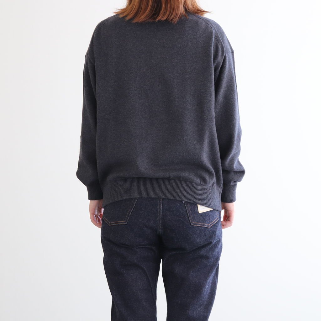 <img class='new_mark_img1' src='https://img.shop-pro.jp/img/new/icons1.gif' style='border:none;display:inline;margin:0px;padding:0px;width:auto;' />COTTON CASHMERE TURTLE #C.GRAY [2003-007W]