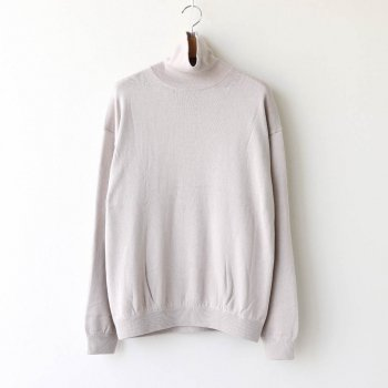 COTTON CASHMERE TURTLE #IVORY [2003-007] _ crepuscule | クレプスキュール
