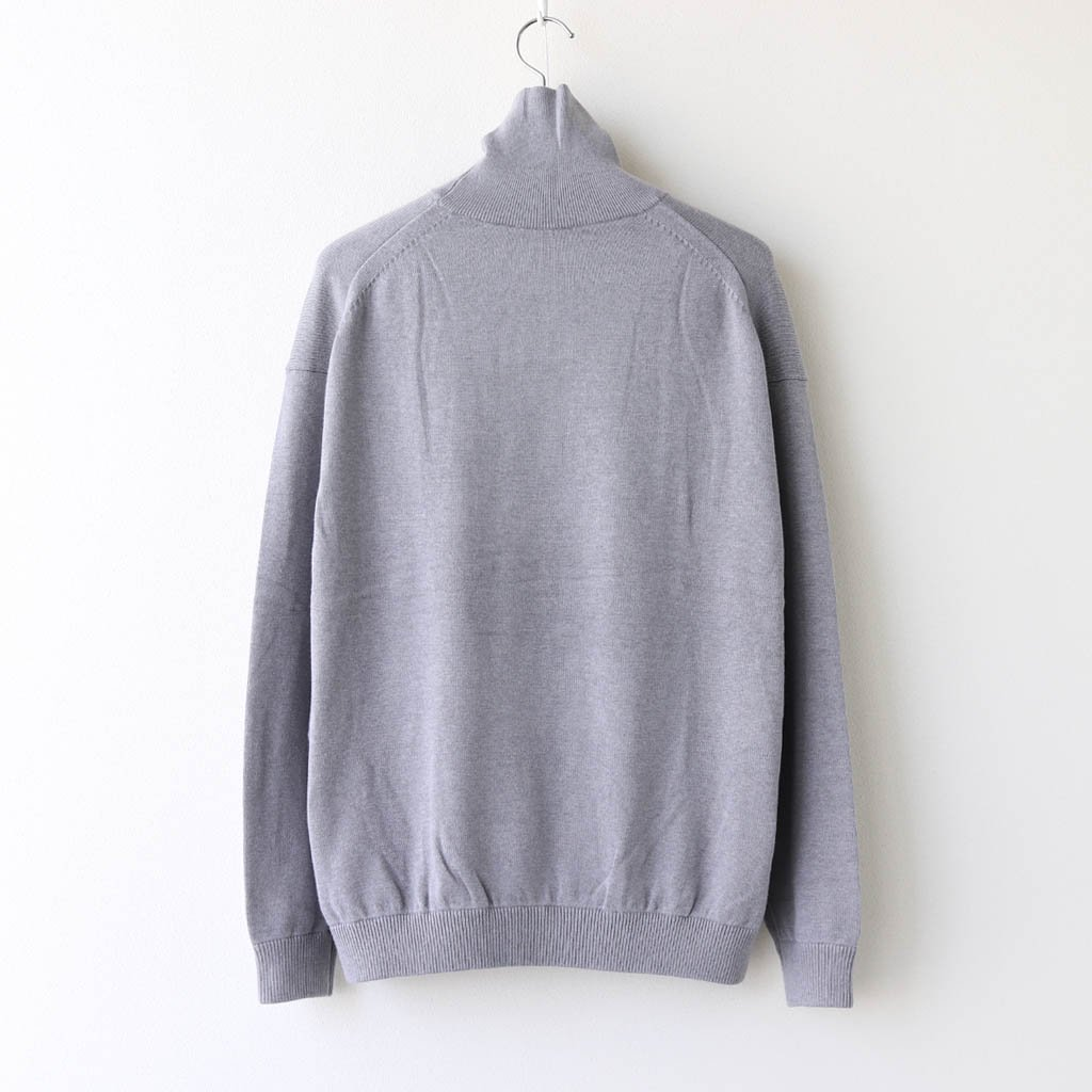 <img class='new_mark_img1' src='https://img.shop-pro.jp/img/new/icons1.gif' style='border:none;display:inline;margin:0px;padding:0px;width:auto;' />COTTON CASHMERE TURTLE #GRAY [2003-007]
