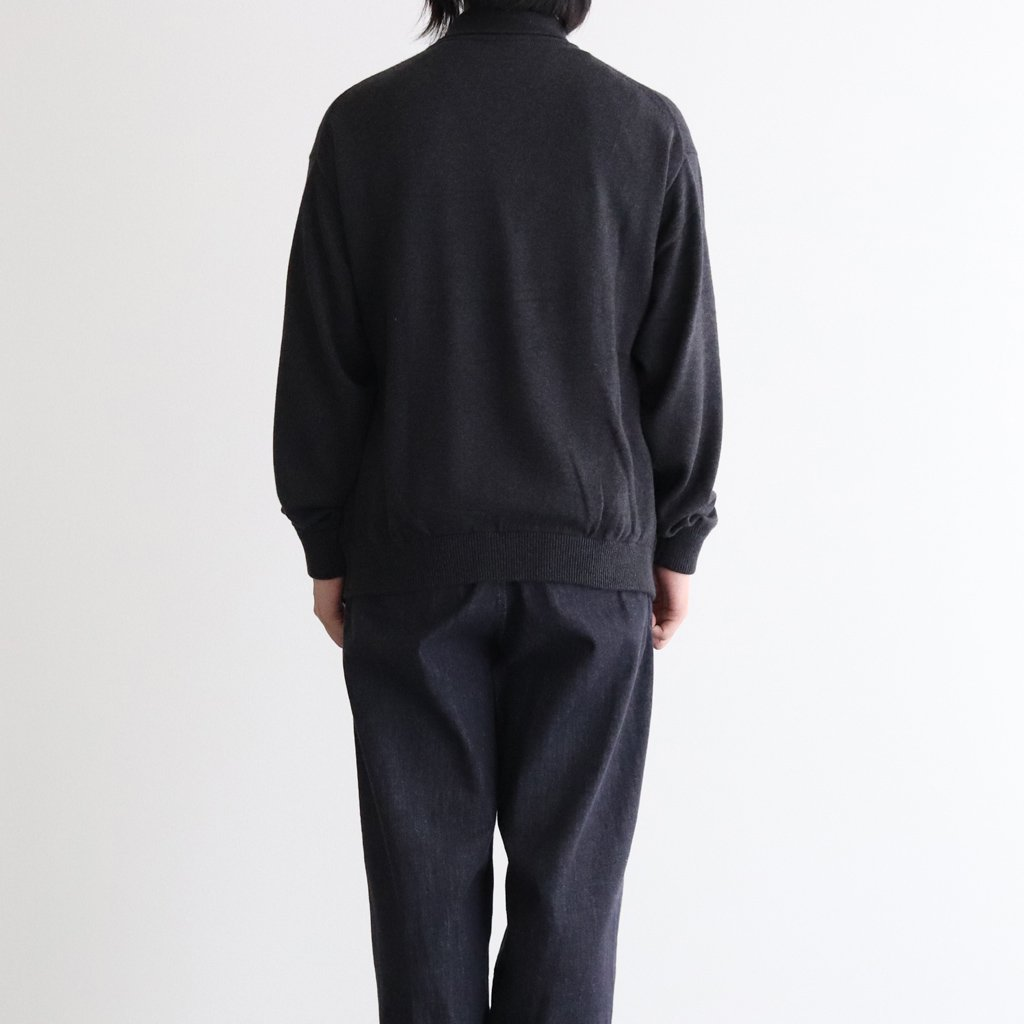 <img class='new_mark_img1' src='https://img.shop-pro.jp/img/new/icons1.gif' style='border:none;display:inline;margin:0px;padding:0px;width:auto;' />COTTON CASHMERE TURTLE #C.GRAY [2003-007]