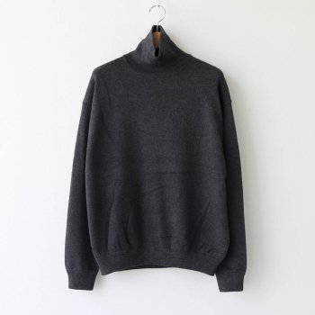 COTTON CASHMERE TURTLE #C.GRAY [2003-007] _ crepuscule | クレプスキュール