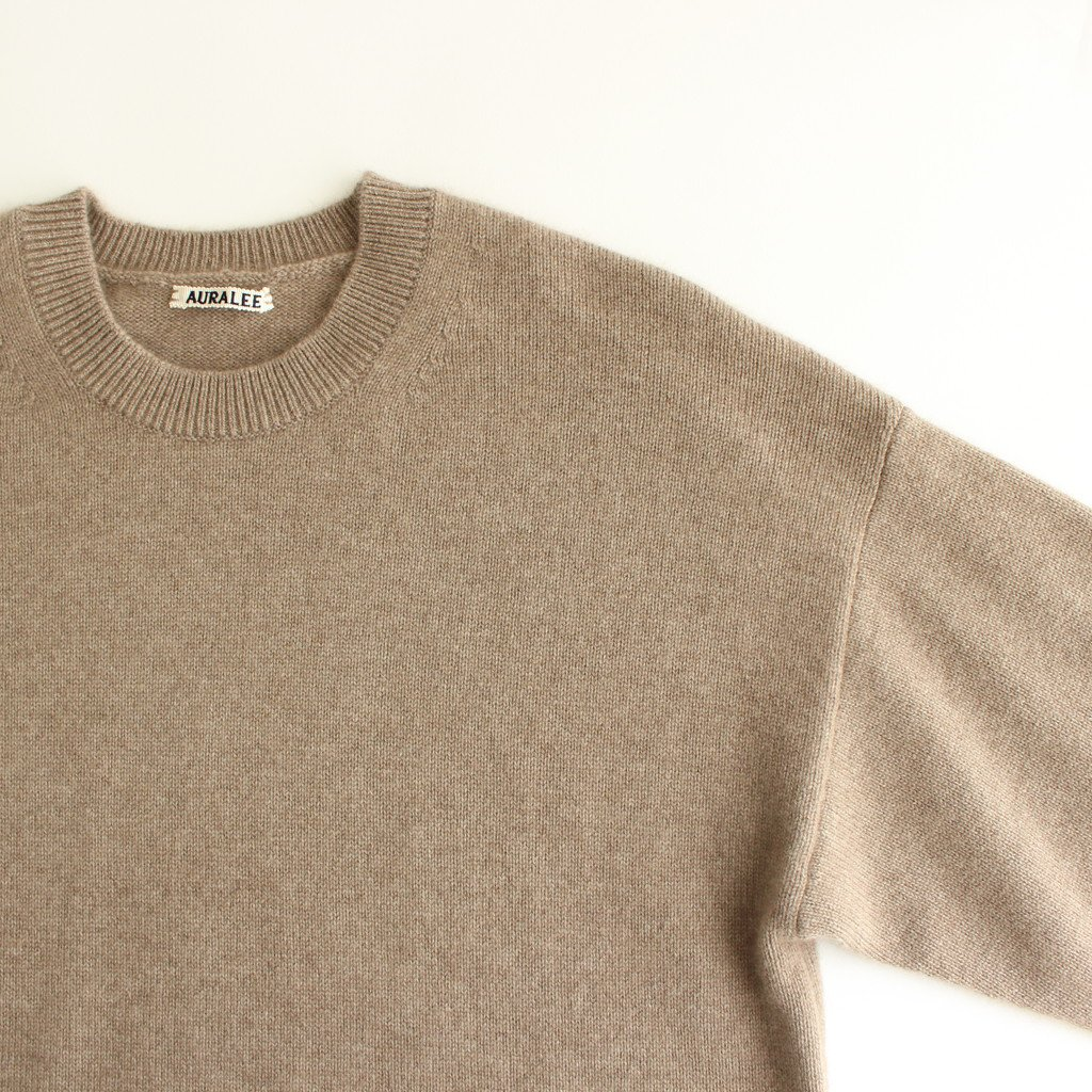 <img class='new_mark_img1' src='https://img.shop-pro.jp/img/new/icons1.gif' style='border:none;display:inline;margin:0px;padding:0px;width:auto;' />BABY CASHMERE KNIT P/O #NATURAL BROWN [A20AP02BC]