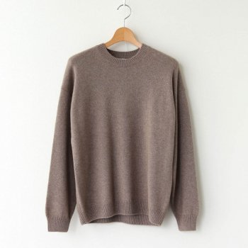 BABY CASHMERE KNIT P/O #NATURAL BROWN [A20AP02BC] _ AURALEE | オーラリー