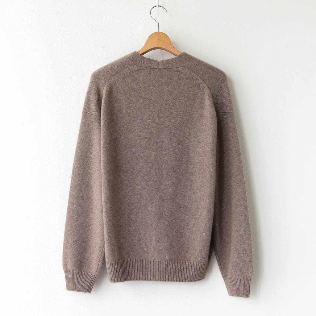 <img class='new_mark_img1' src='https://img.shop-pro.jp/img/new/icons1.gif' style='border:none;display:inline;margin:0px;padding:0px;width:auto;' />BABY CASHMERE KNIT CARDIGAN #NATURAL BROWN [A20AC01BC]