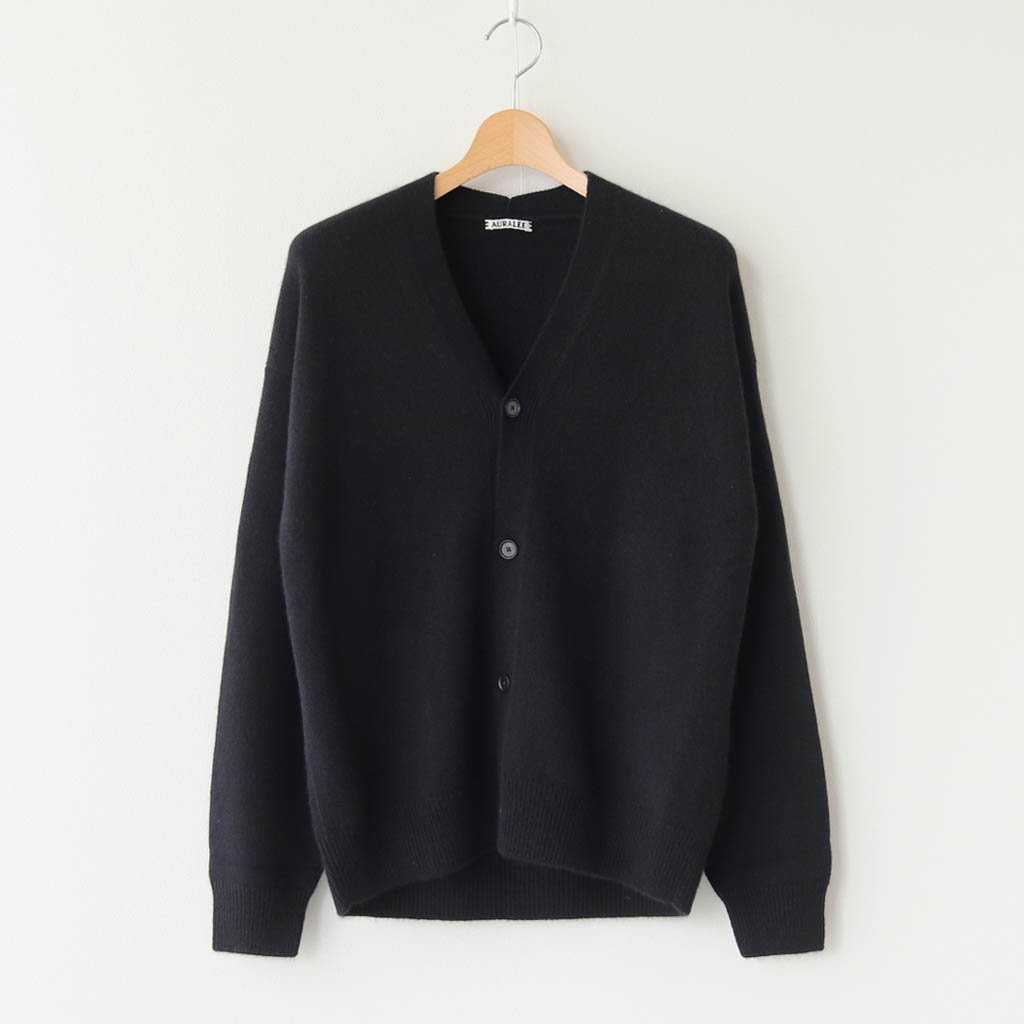 <img class='new_mark_img1' src='https://img.shop-pro.jp/img/new/icons1.gif' style='border:none;display:inline;margin:0px;padding:0px;width:auto;' />BABY CASHMERE KNIT CARDIGAN #BLACK [A20AC01BC]