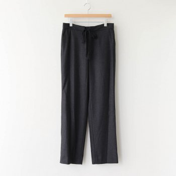 WOOL FULLING FLANNEL SLACKS #TOP CHARCOAL [A20AP03CF] _ AURALEE | オーラリー