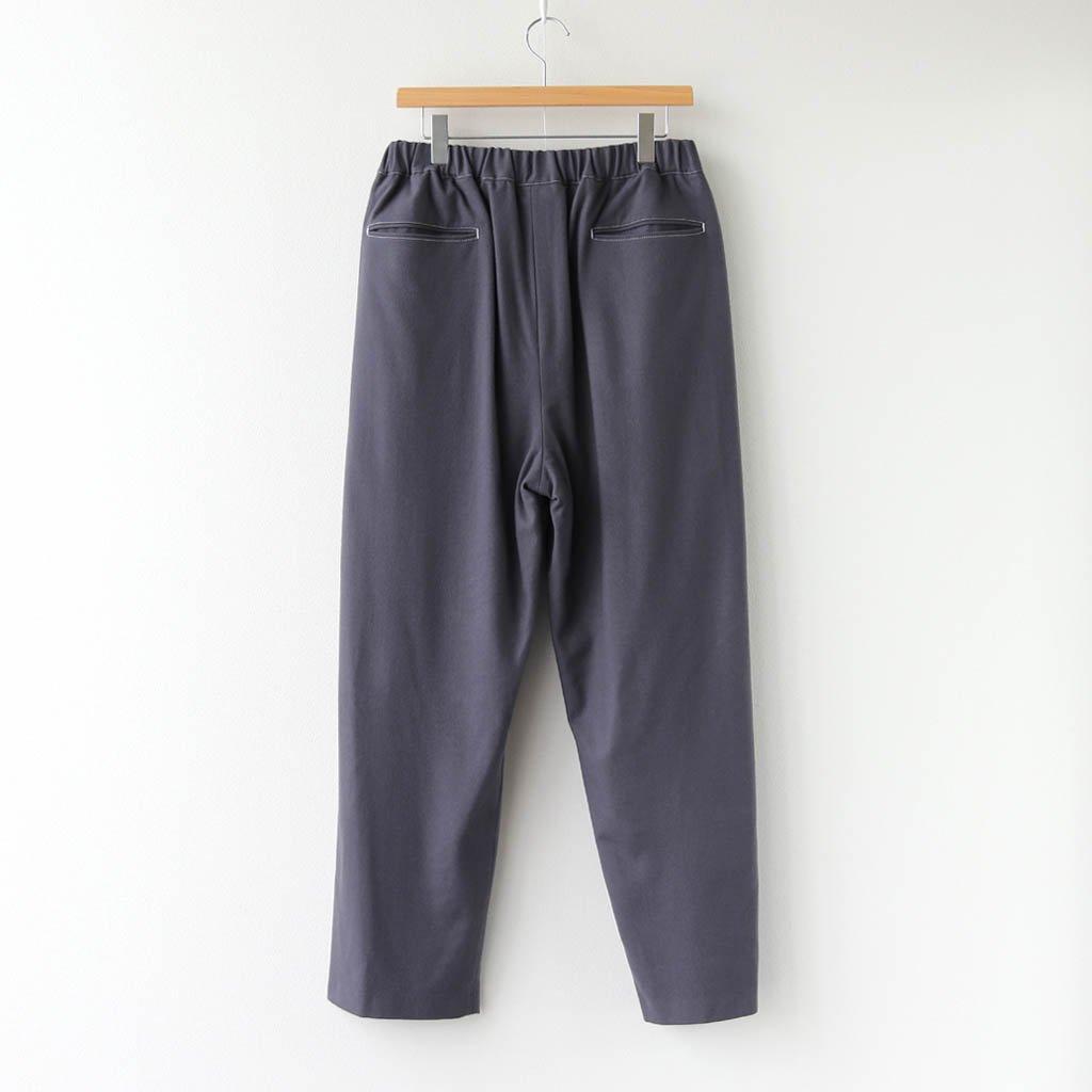 WOOL FLANNEL EASY PANTS #C.GRAY [GM203-40068]