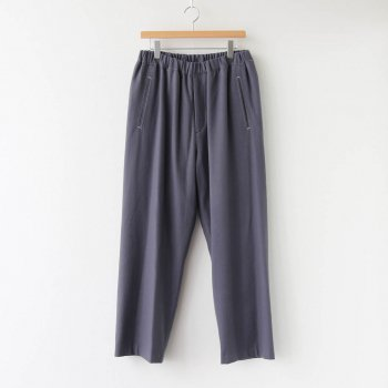 WOOL FLANNEL EASY PANTS #C.GRAY [GM203-40068] _ Graphpaper | グラフペーパー