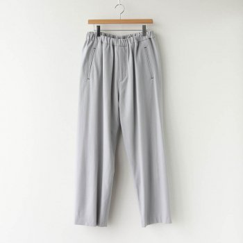 WOOL FLANNEL EASY PANTS #L.GRAY [GM203-40068] _ Graphpaper | グラフペーパー