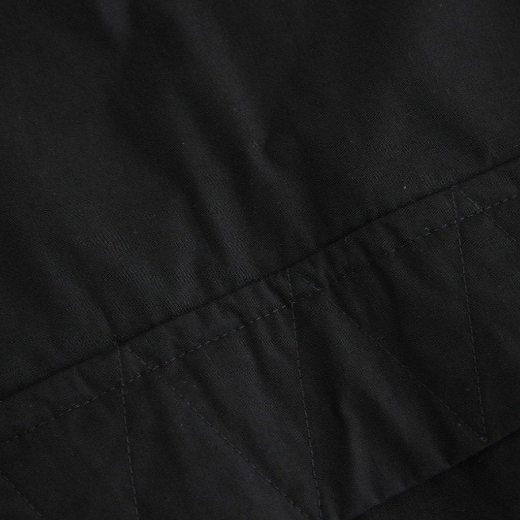FHFCT ポリエステル高密度ウェザー フードヒュージコート #BLACK [A0_FR021PK]