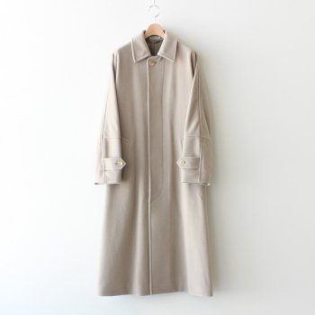 CASHMERE WOOL MOSSER BIG COAT #LIGHT GRAY [A20AC02MC] _ AURALEE | オーラリー