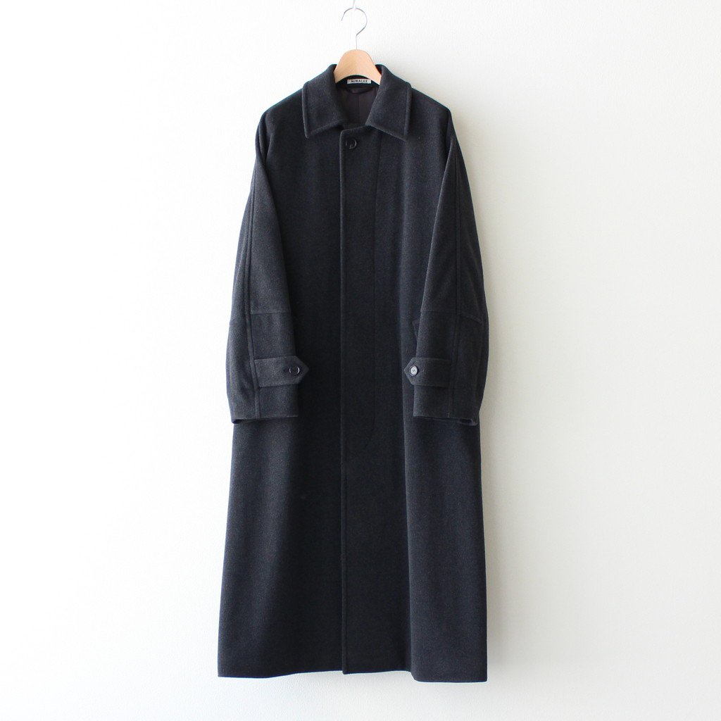 <img class='new_mark_img1' src='https://img.shop-pro.jp/img/new/icons1.gif' style='border:none;display:inline;margin:0px;padding:0px;width:auto;' />CASHMERE WOOL MOSSER BIG COAT #TOP CHARCOAL [A20AC02MC]