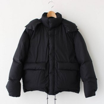 SUVIN HIGH COUNT CLOTH DOWN JACKET #BLACK [A20AB01SV] _ AURALEE | オーラリー
