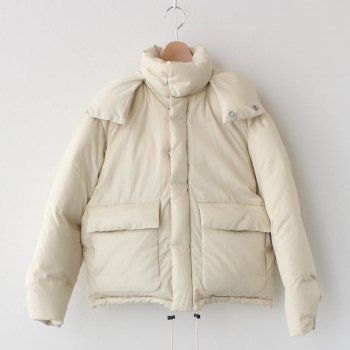 SUVIN HIGH COUNT CLOTH DOWN JACKET #IVORY [A20AB02SV] _ AURALEE | オーラリー