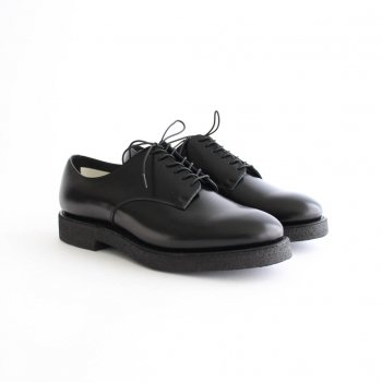 MOLTON BLUCHER (CREPE SOLE) #BLACK [FTC2034005] _ foot the coacher | フットザコーチャー