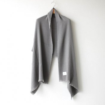 SILK WOOL KERSEY STOLE #GRAY [PR20AW-ST010] _ Select - Accessories | 服飾小物