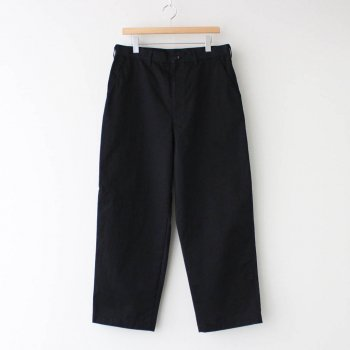 エステルウールドビー綿ギャバ製品洗 ノータックパンツ #BLACK [HF-P023-051] _ COMME des GARCONS HOMME   コム デ ギャルソン オム