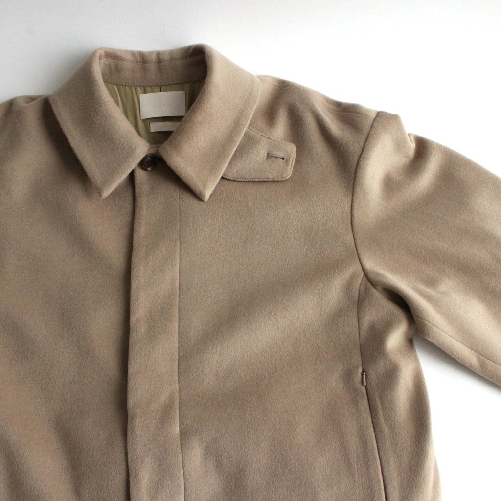 <img class='new_mark_img1' src='https://img.shop-pro.jp/img/new/icons1.gif' style='border:none;display:inline;margin:0px;padding:0px;width:auto;' />3WAY BAL COLLAR SHARE COAT #BEIGE [YK20AW0135C]