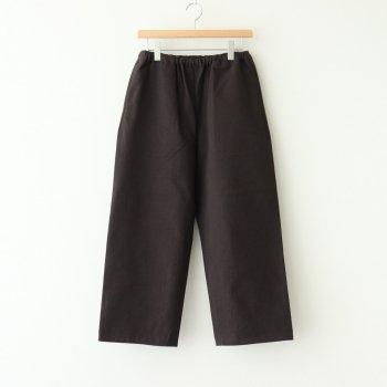 EASY PANTS #CHARCOAL [00654] _ YAECA | ヤエカ
