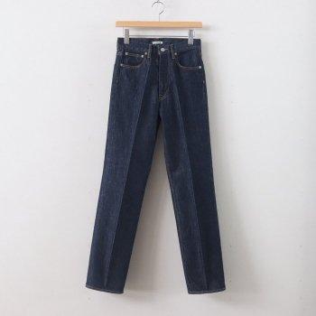 HARD TWIST DENIM 5P PANTS #INDIGO [A00P02DM] _ AURALEE   オーラリー