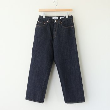 DENIM PANTS WIDE STRAIGHT #INDIGO [11-13W] _ YAECA | ヤエカ