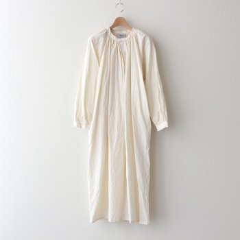 GATHER BLOUSE LONG #NATURAL [90756] _ YAECA | ヤエカ