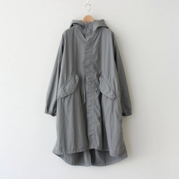 GARMENT DYED POPLIN MODS COAT #GRAY [GM211-10031_L] _ Graphpaper | グラフペーパー