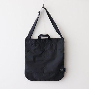 ナイロンオックス パッカブル PORTER ショルダーバッグ #BLACK [HG-K202-051] _ COMME des GARCONS HOMME | コム デ ギャルソン オム