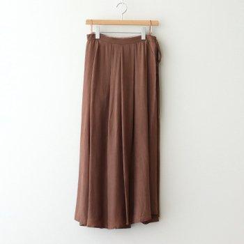 タックラップスカート #CAMEL [TBAS-173] _ TICCA   ティッカ