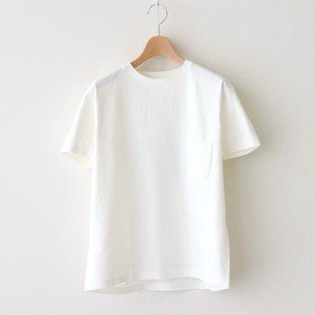 丸胴 CREW NECK T-SHIRT POCKET S/S #CASABLANCA [81031] _ YAECA   ヤエカ