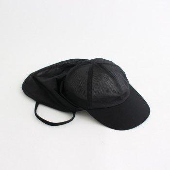 BLACK MESH SUNSHADE CAP #BLACK [NO.18693] _ COMESANDGOES | カムズアンドゴーズ