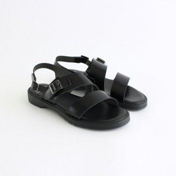 SS BELT SANDALS #BLACK [FTC1712003] _ foot the coacher | フットザコーチャー