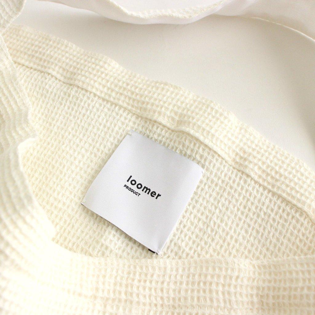 LINEN WAFFLE BAG #WHITE [PR21SS-BG013]