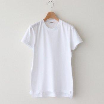 SEAMLESS CREW NECK TEE #WHITE [A00T04ST] _ AURALEE   オーラリー