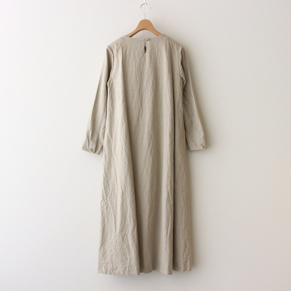 A LINE DRESS #NATURAL [91705]