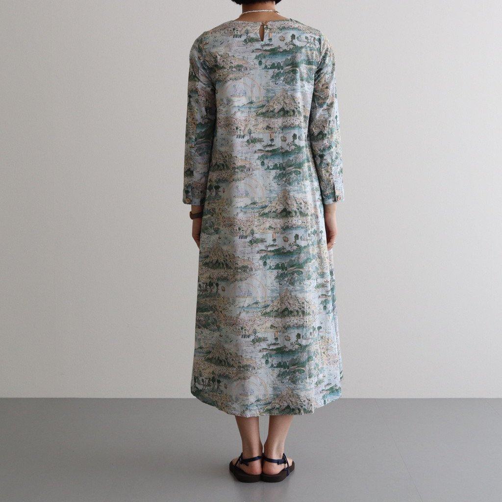 A LINE DRESS #STORY ISLAND [91706]
