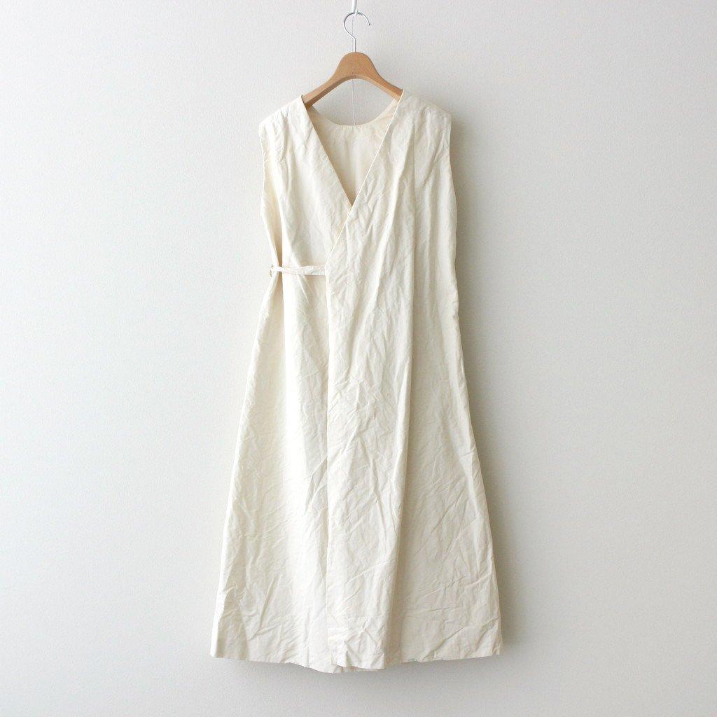APRON COAT #WHITE [91511]