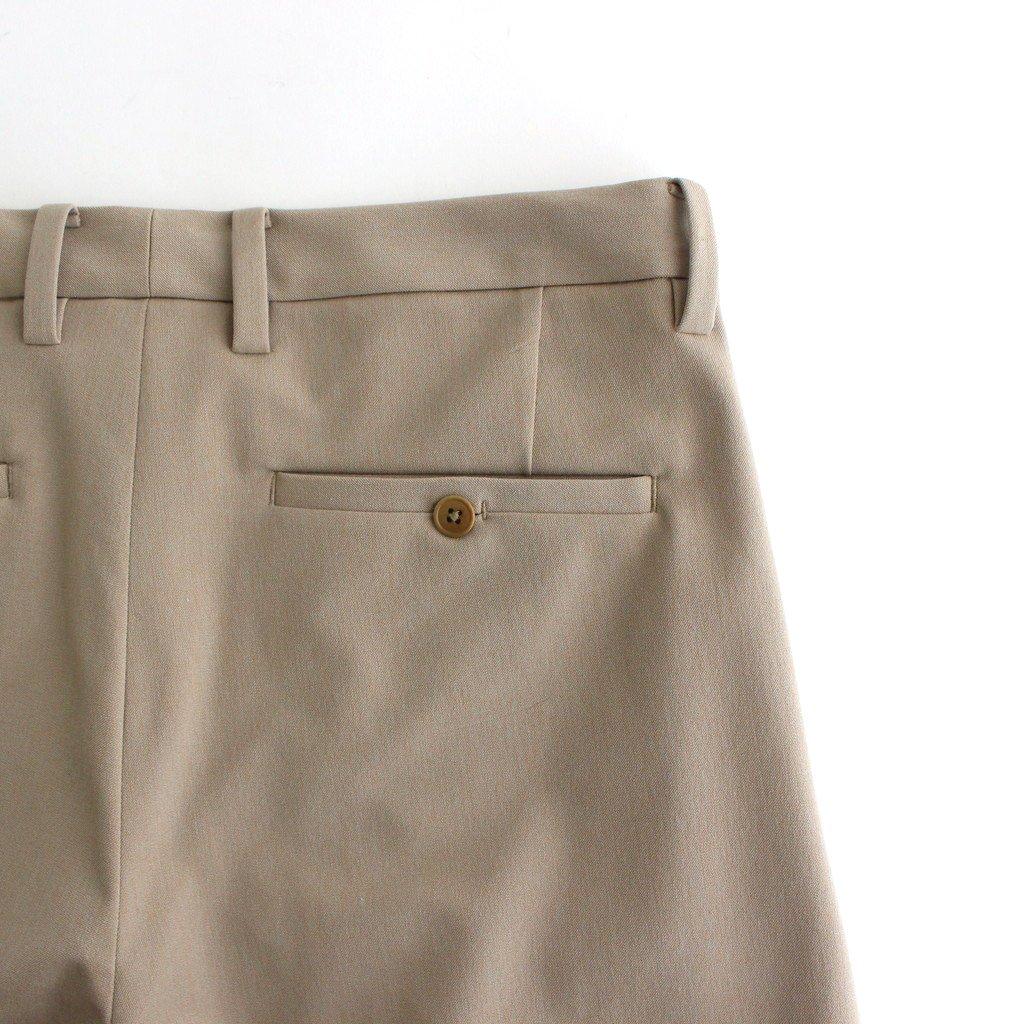 2WAY PANTS SLIM TAPERED #L.BROWN [51612]
