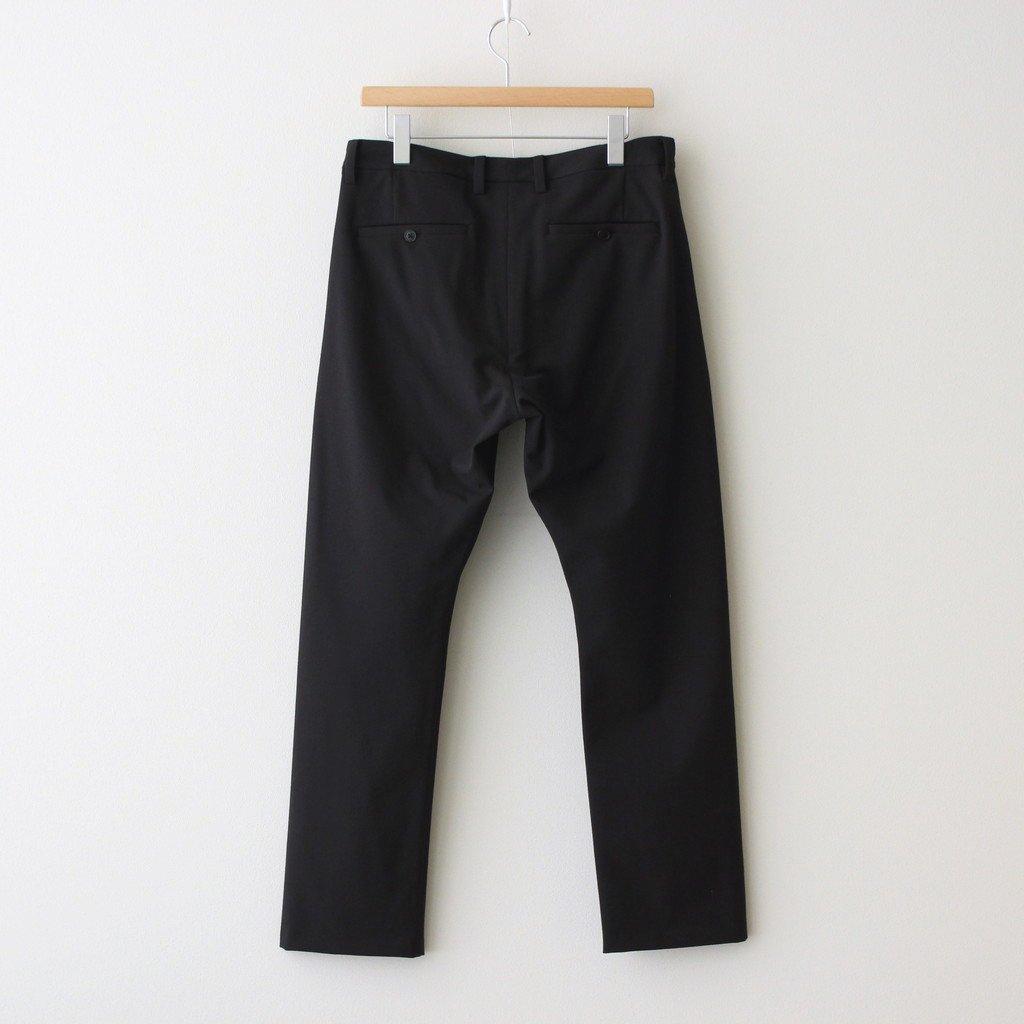 2WAY PANTS SLIM TAPERED #BLACK [51612]